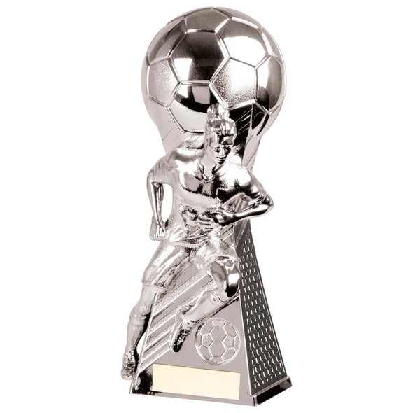 Trailblazer Football Heavyweight Award Silver 265mm