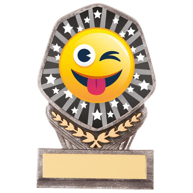 Falcon Emoji Tongue Out Award 105mm