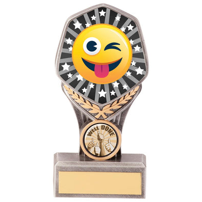 Falcon Emoji Tongue Out Award 150mm