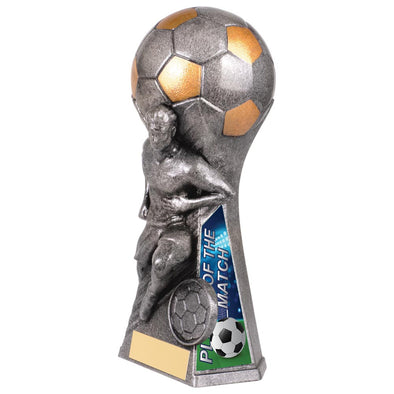 Trailblazer Male Player Of Match Award Antique Silver 160mm
