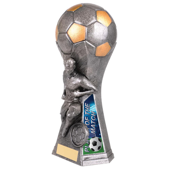 Trailblazer Male Player Of Match Award Antique Silver 190mm