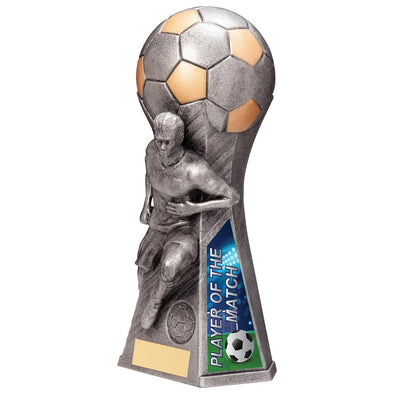 Trailblazer Male Player Of Match Award Antique Silver 230mm