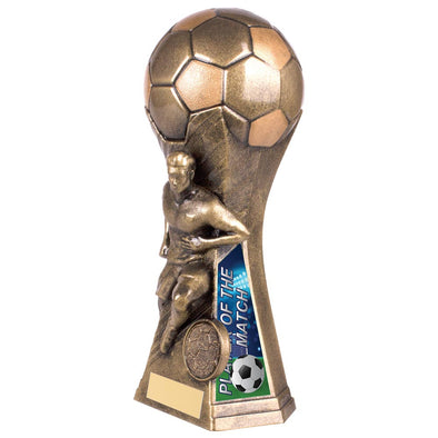 Trailblazer Male Player Of Match Award Classic Gold 190mm