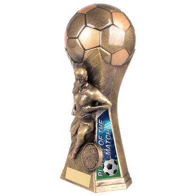 Trailblazer Female Player Of Match Award Classic Gold 190mm