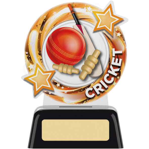 Round Cricket Trophy 11.5cm