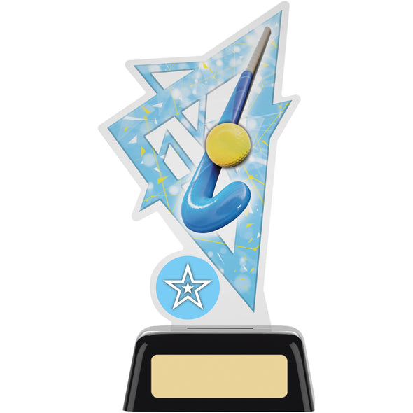 Hockey Acrylic Award 16cm