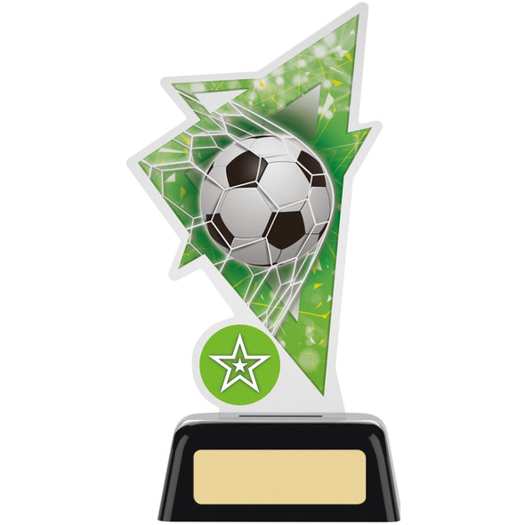 Football Acrylic Trophy 16cm