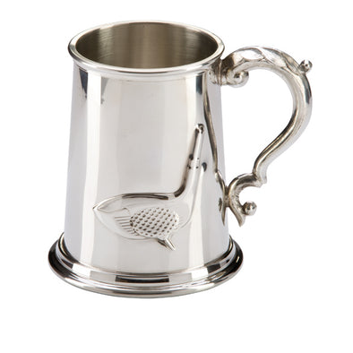The Troon Golf English Pewterter Tankard 125mm 1pt