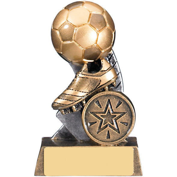 ESCAPADE II FOOTBALL TROPHY 9.5cm