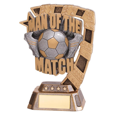 Euphoria Football Man Of The Match Award 130mm