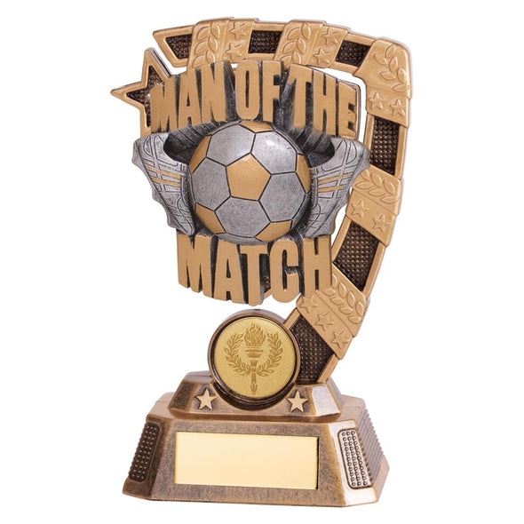 Euphoria Football Man Of The Match Award 150mm