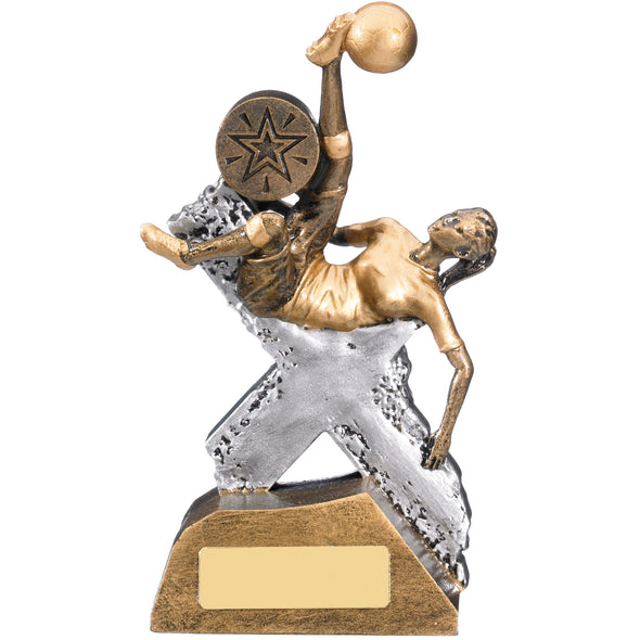 EXTREME FEMALE FOOTBALL TROPHY 16cm
