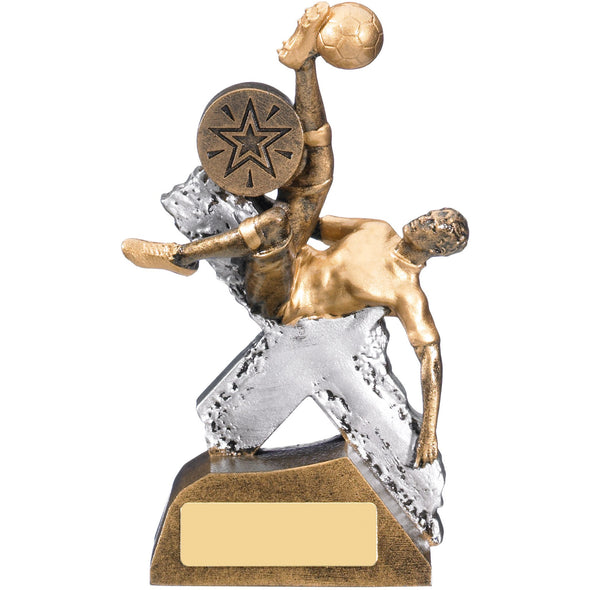 EXTREME MALE FOOTBALL TROPHY 14.5cm