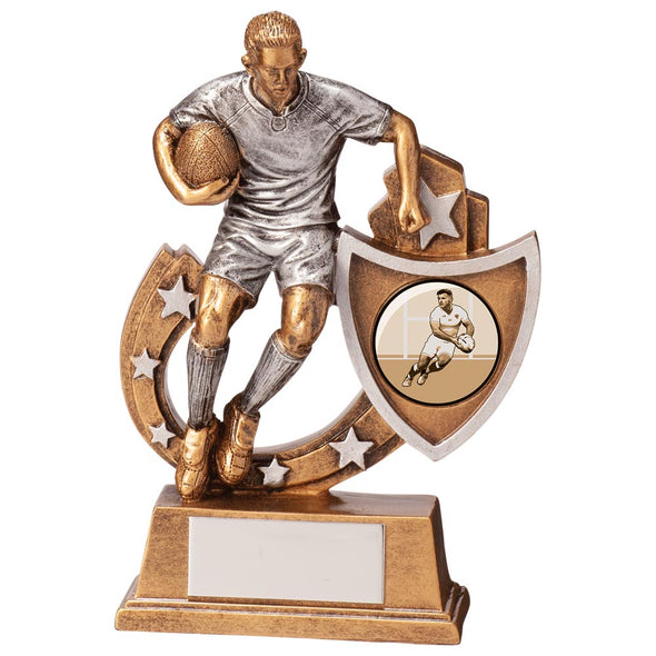Galaxy Rugby Award 125mm
