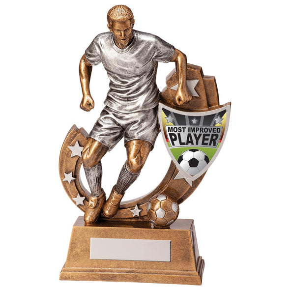 Galaxy Football Most Improved Award 245mm