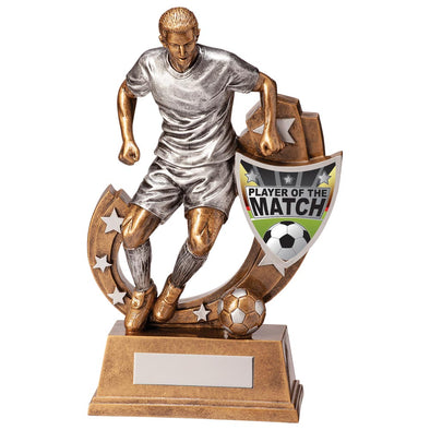 Galaxy Football Player Of Match Award 245mm