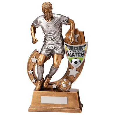 Galaxy Football Player Of Match Award 285mm