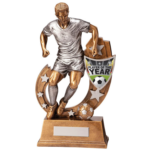 Galaxy Football Player Of Year Award 285mm