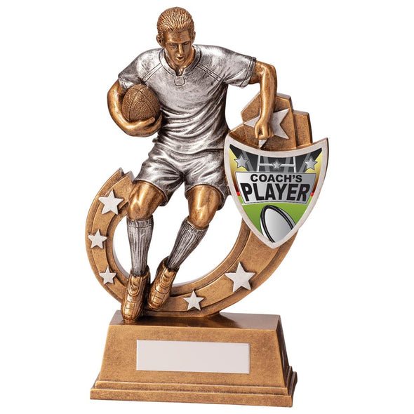 Galaxy Rugby Coach's Player Award 205mm