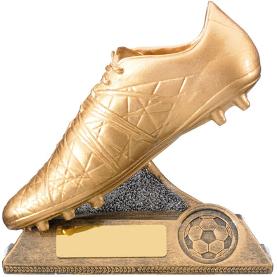 Golden Boot Football Award 12.5cm