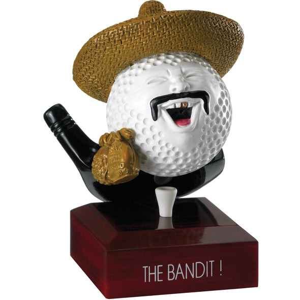 Golf The Bandit Award 12.5cm
