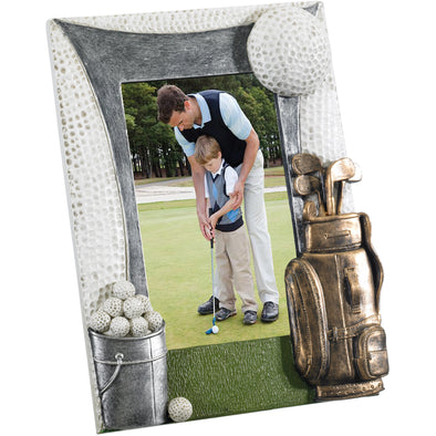 Personalised Golf Photo Frame 22x18cm