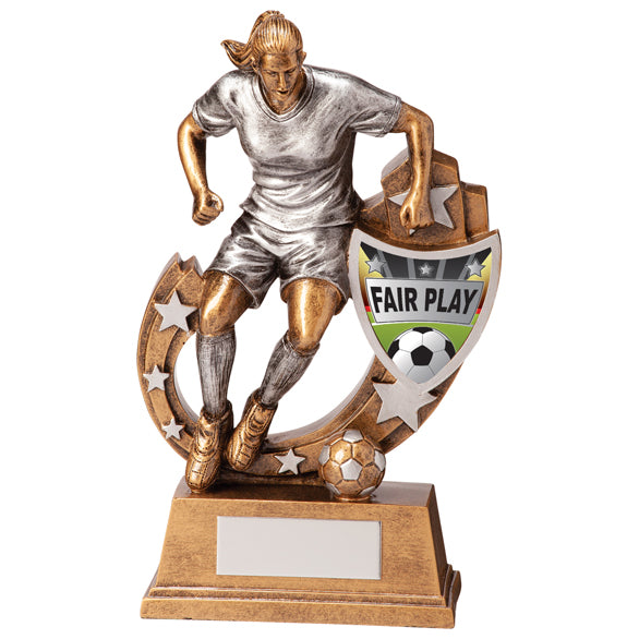 Galaxy Football Fair Play Award 165mm