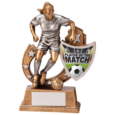 Galaxy Football Player Of Match Award 125mm