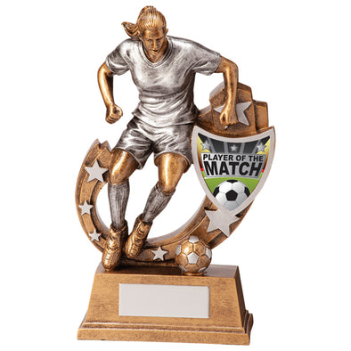 Galaxy Football Player Of Match Award 165mm