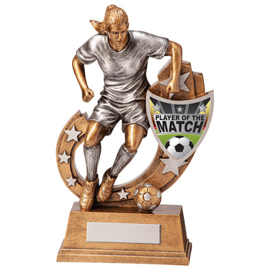 Galaxy Football Player Of Match Award 205mm