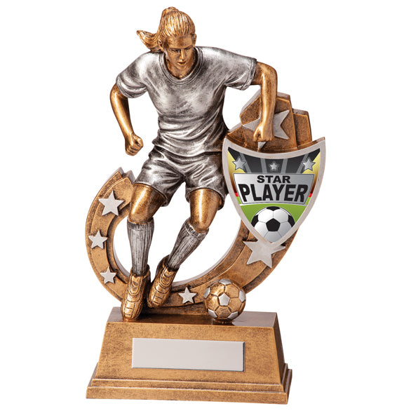 Galaxy Football Star Player Award 205mm