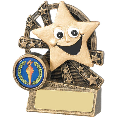 Smiley Star Award 9cm