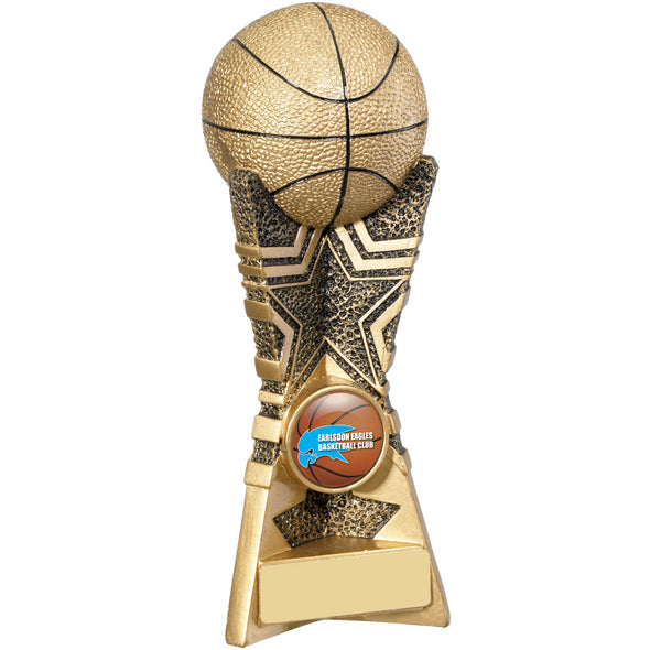 Basketball Trophy 18cm