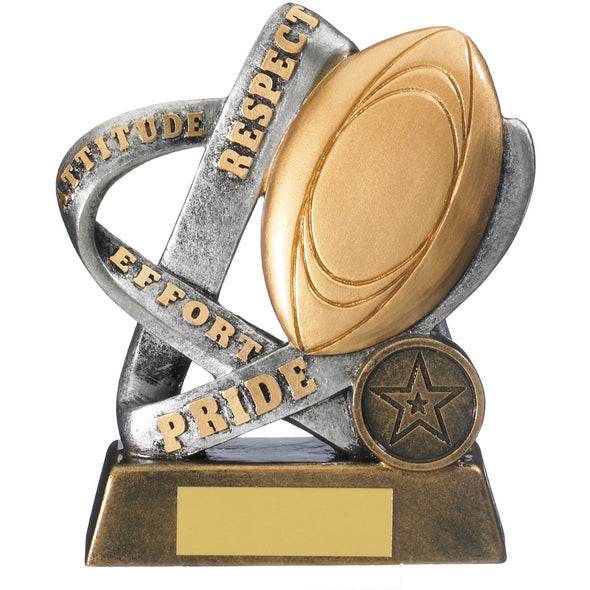 Infinity Rugby Award 12.5cm