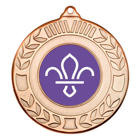 Scouts Bronze Laurel 50mm Medal