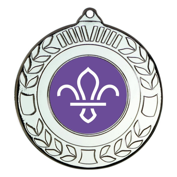 Scouts Silver Laurel 50mm Medal
