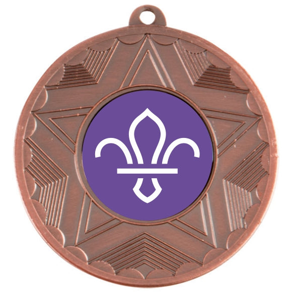 Scouts Bronze Star 50mm Medal
