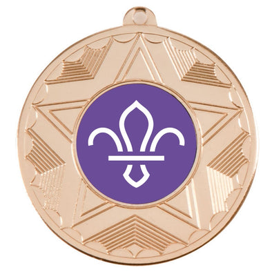 Scouts Gold Star 50mm Medal