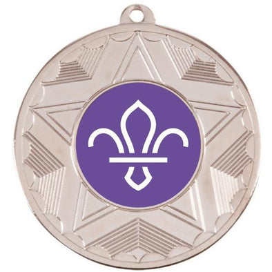 Scouts Silver Star 50mm Medal