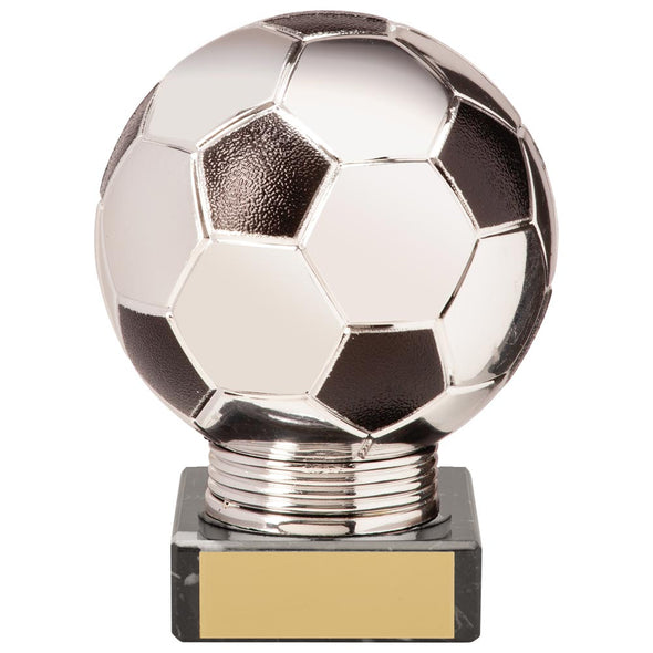 Valiant Legend Football Award Silver & Black 115mm