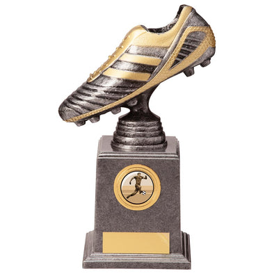 World Striker Legend Football Bootsilver & Gold 195mm