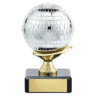 Glitterball Dance Trophy 100mm