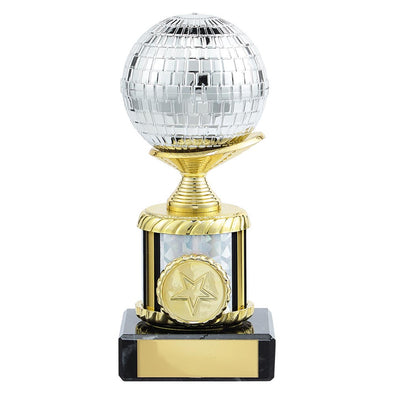 Glitterball Dance Trophy 155mm