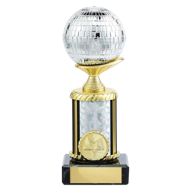Glitterball Dance Trophy 180mm