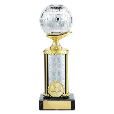 Glitterball Dance Trophy 205mm
