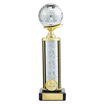 Glitterball Dance Trophy 215mm