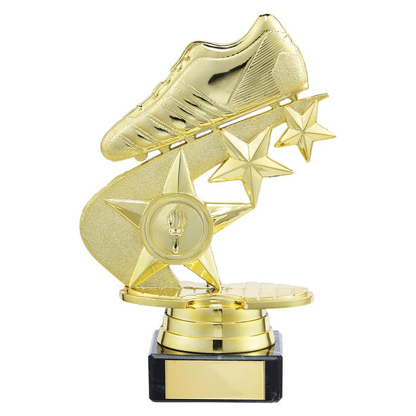 Champions Football Boot Trophy Gold 155mm