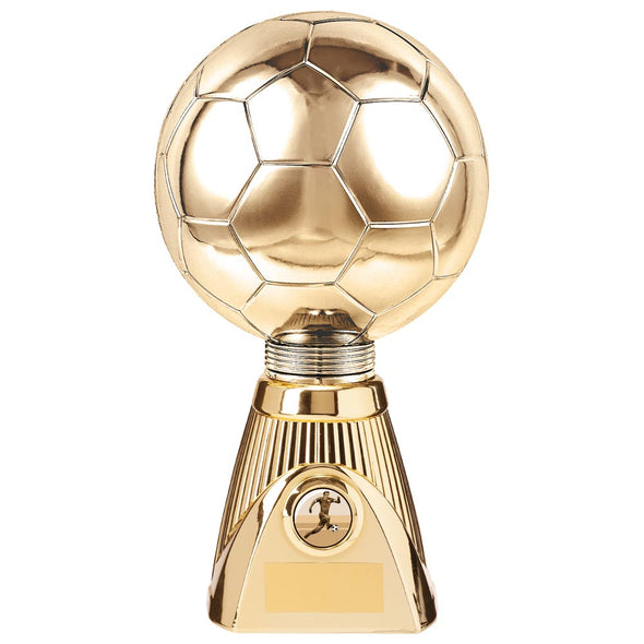 Planet Football Deluxe Rapid 2 Trophy Gold 255mm