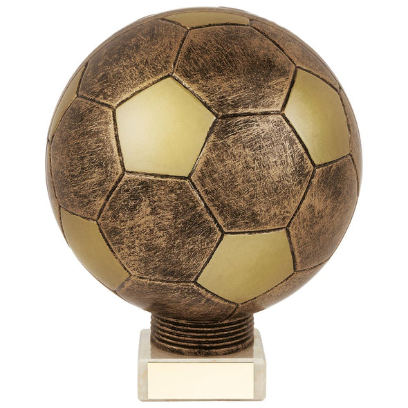 Planet Football Legend Rapid 2 Trophy Antique Bronze & Gold 175mm