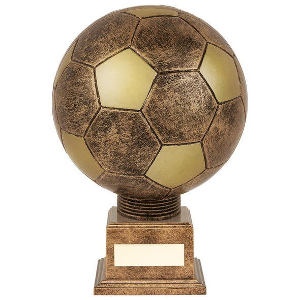 Planet Football Legend Rapid 2 Trophy Antique Bronze & Gold 210mm